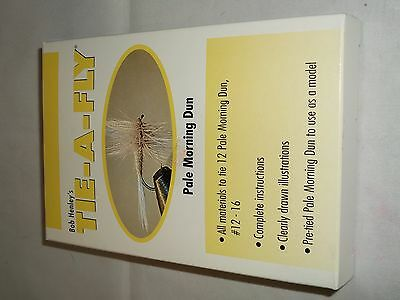 Bob Henley's Tie-a-fly Kit Pale Morning Dun makes 12 flies with directions!