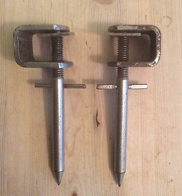Bass Drum Spurs Vintage Clip On Type