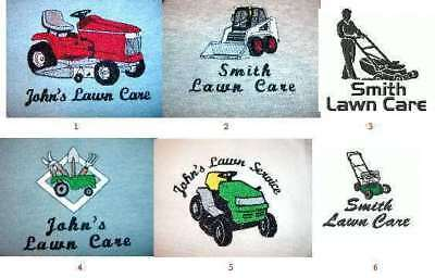6 Carhartt Shirts 3-4XL Embroidered Free4Ur Lawn Care Business