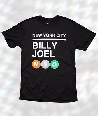 Billy Joel - Madison Square Garden T-Shirt - XL-BRAND NEW from Dec 17 '16 Show!