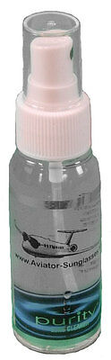 New 2 Oz Purity(TM) Clear Lens Cleaner Bottle - Keep Your Lenses Clean & Clear