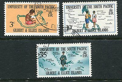Gilbert & Ellice Islands:1969 South Pacific University  SG154-6 Fine Used AB123