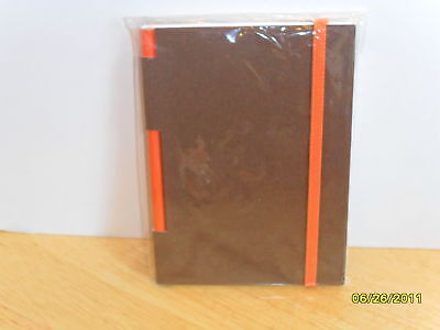 NEW PIER 1 MEMO PAD PAPER PENCIL BROWN ZENI NOTEBOOK JOURNAL candle