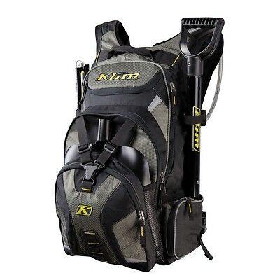 KLIM KREW PAK SNOWMOBILE MOUNTAIN BACKPACK GEAR BAG With HYDRATION & TOOL BAGS