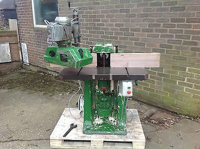 Wadkin Ep Spindle Moulder With Bursgreen Power Feed. 3 Phase. Vat Included