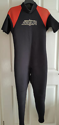 Mens Warm Full Length Sola Wetsuit Size Medium-Large Chest 39-41 Inches