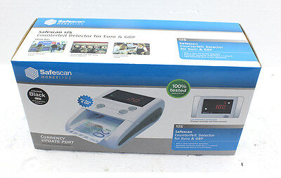 Safescan Moneyline Counterfeit Detector for Euro and GBP