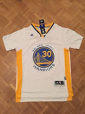 Steph Curry NBA Jersey Golden State Warriors Taille M Adidas