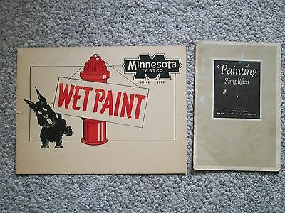 Minnesota Paint Wet Paint Sign & Booklet Painting Simplified