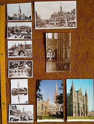 Salisbury vintage cards and postcards unposted