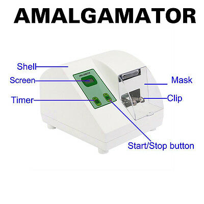 Dental High Speed Amalgamator Amalgam Mixer Capsule Blend Digital Lab Equipment