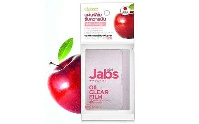 Jabs Facial Oil Control Absorbing Face Blotting Paper - Apple scent
