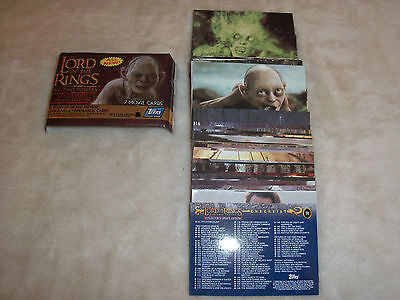 TOPPS The Lord of the Rings : Two Towers Collectors Update Edition - Complete