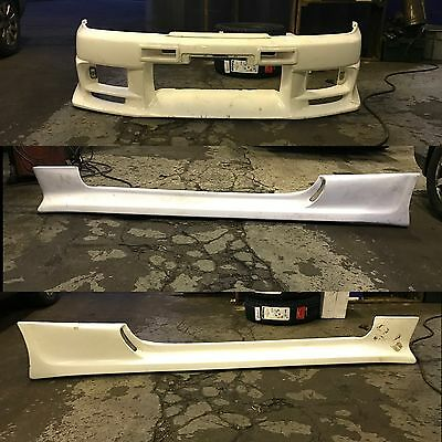 R33 Skyline Top Secret Body Kit Front Bumper And Side Skirts