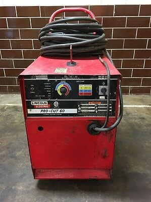 Lincoln Electric Pro-Cut 60 Plasma Cutting System  *Tested*