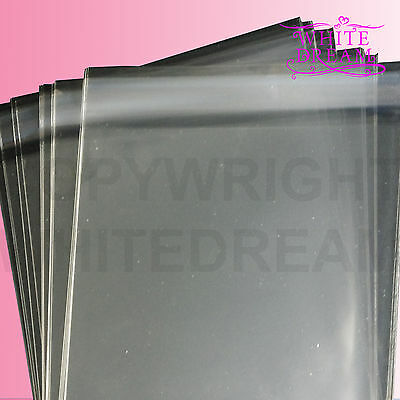 C5 / A5 Clear Cello Bags For Greeting Cards | Self Seal | Cellophane | Display