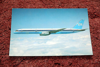 Lts Boeing 757 Airline Issue Postcard