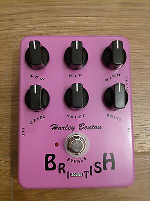 British Sound Effect Pedal - modded with true bypass