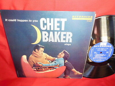 It Could Happen to ypu CHET BAKER Sings LP 1958 USA MINT- First Pressing