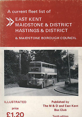 1985 Fleetbook East Kent  Maidstone & District  Hastings & District Maidstone Bc