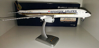 Singapore Airlines Airbus A350-900 with F1 logo Hogan wings 1/200 new sealed box