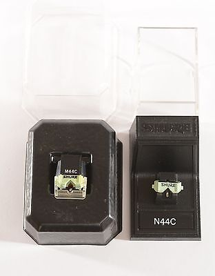 SHURE M44C cartridge and NEW replacement STYLUS SHURE N44C