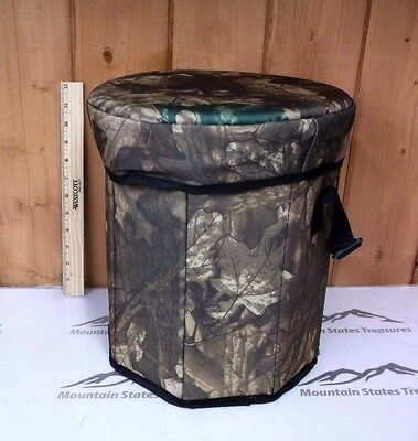 Camo Cooler and Seat ~ New ~ Free Shipping