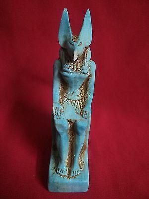 Ancient Egyptian statue of god Anubis ( 2686 – 2181 BC )