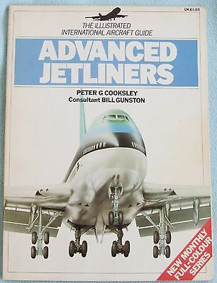 ADVANCED JETLINERS - Book - Illustrated International Aircraft Guide - 65 pages