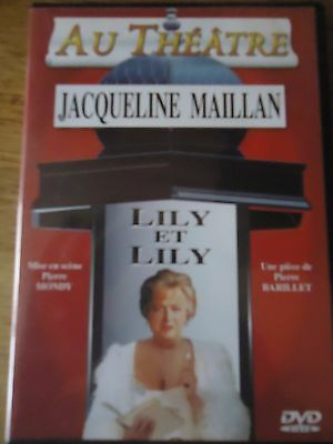 Dvd * Lily Et Lily* Jacqueline Maillan Pierre Barillet Gredy Theatre