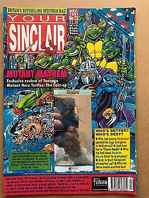 Your Sinclair job lot - 5 issues, 72, 73, 74, 75. 76 - ZX Spectrum