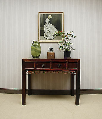 Well Aged Antique Chinese Desk or Console Table, early 20th Century