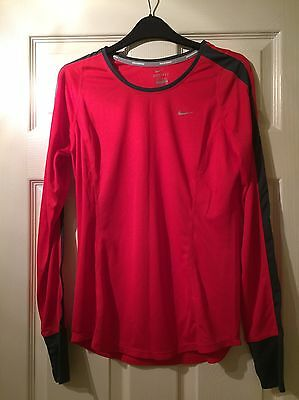Nike Long Sleeve Running Top - Size M
