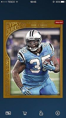 Topps Huddle Gypsy Queen 1/1 Tolbert Digital Card