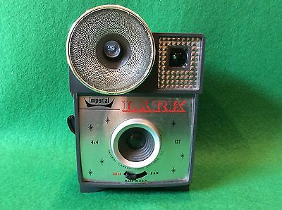 Vintage Imperial Lark Flash Camera 127 Made USA