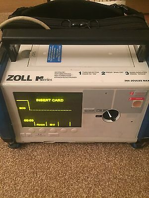 zoll m series aed, 3 Lead Ecg and 4 bay charger