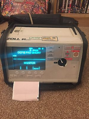 zoll m series, 3 Lead Ecg and 4 bay charger