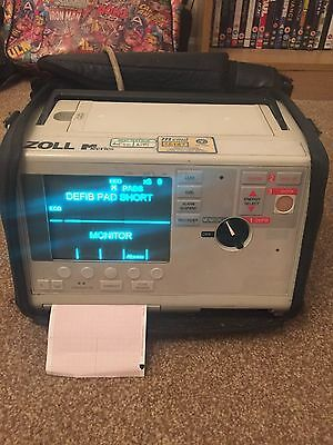 zoll m series and 4 bay charger