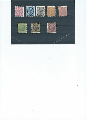 Small lot of PEI stamps (8) Mint hinged Fine Cat $70.00