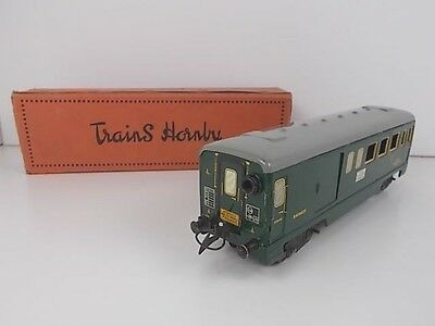 French Hornby O Gauge Mixed Baggage/Passenger Coach (Boxed)