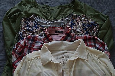 Womens blouses bundle of 4 size 10/12