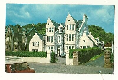 Oban - a photographic postcard of the Queen's Hotel