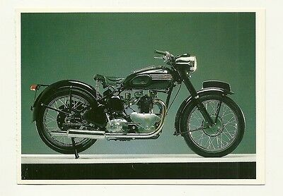Triumph Motor Cycle - a larger format, photographic postcard