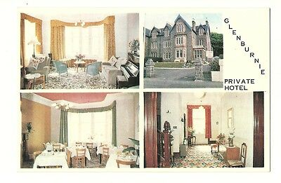 Oban - a photographic advertising card for the Glenburnie Private Hotel