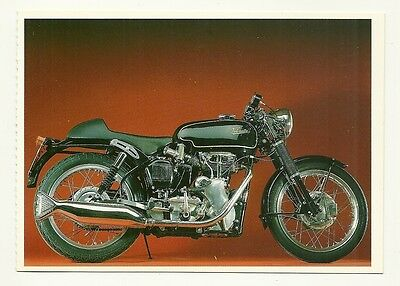 Velocette Venomthruxton Motor Cycle - a larger format, photographic postcard