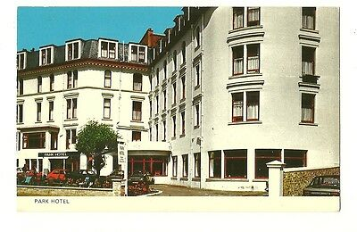 Oban - a photographic postcard of the Park Hotel