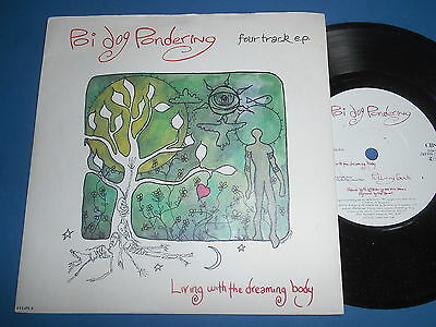 "Poi Dog Pondering Living With The Dreaming Body / Postcard From A Dream 7"" Uk Ex"