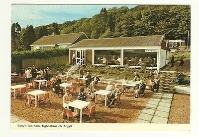 Tighnabruaich - a larger format, photographic postcard of Susy's Tearoom