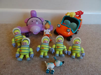 engie bengy figures  and  vehicles