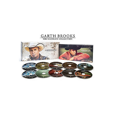 GARTH BROOKS CD The Ultimate Collection 10-Disc Box Set NEW Target GINSLINGER